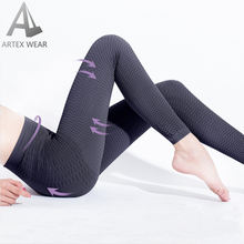 3D Massage Weaving Structure Compression Leggings