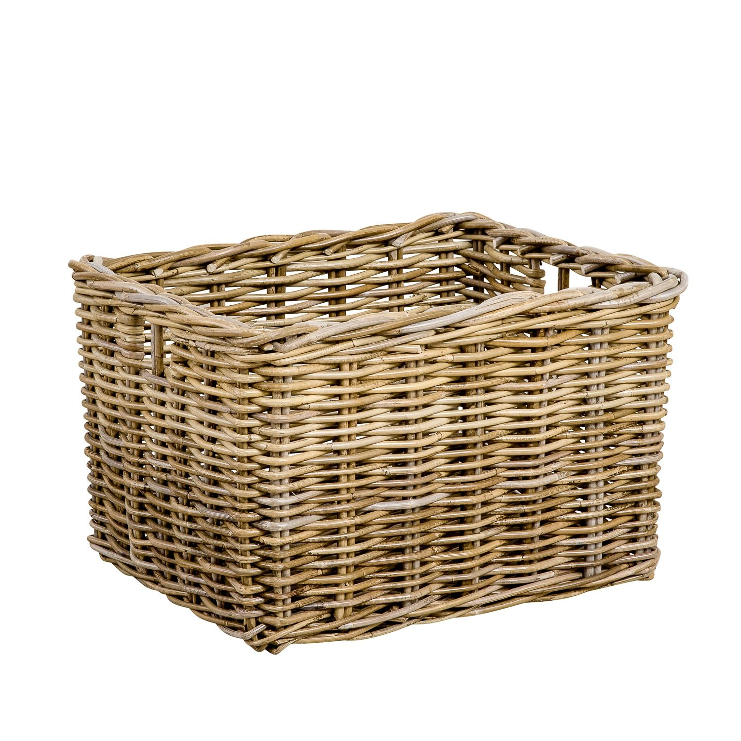 High Quality Large Dirty Clothes Storage Basket Household Basket Square Rattan Storage Basket