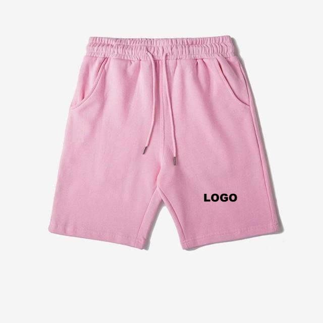 Men Pink or any color Joggers Fleece Shorts New cotton shorts Casual Joggers workout Brand sporting short pant