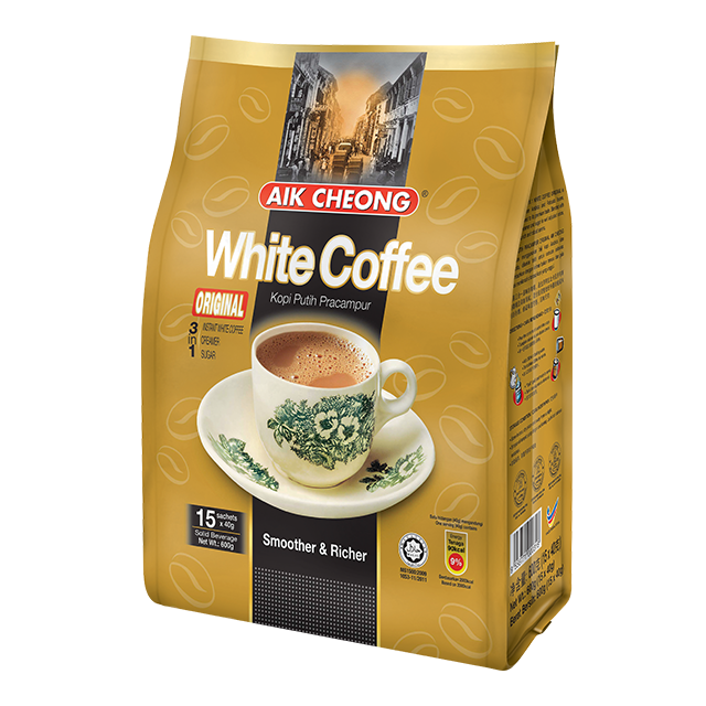 Aik Cheong 3 in 1 White Coffee Tarik Original