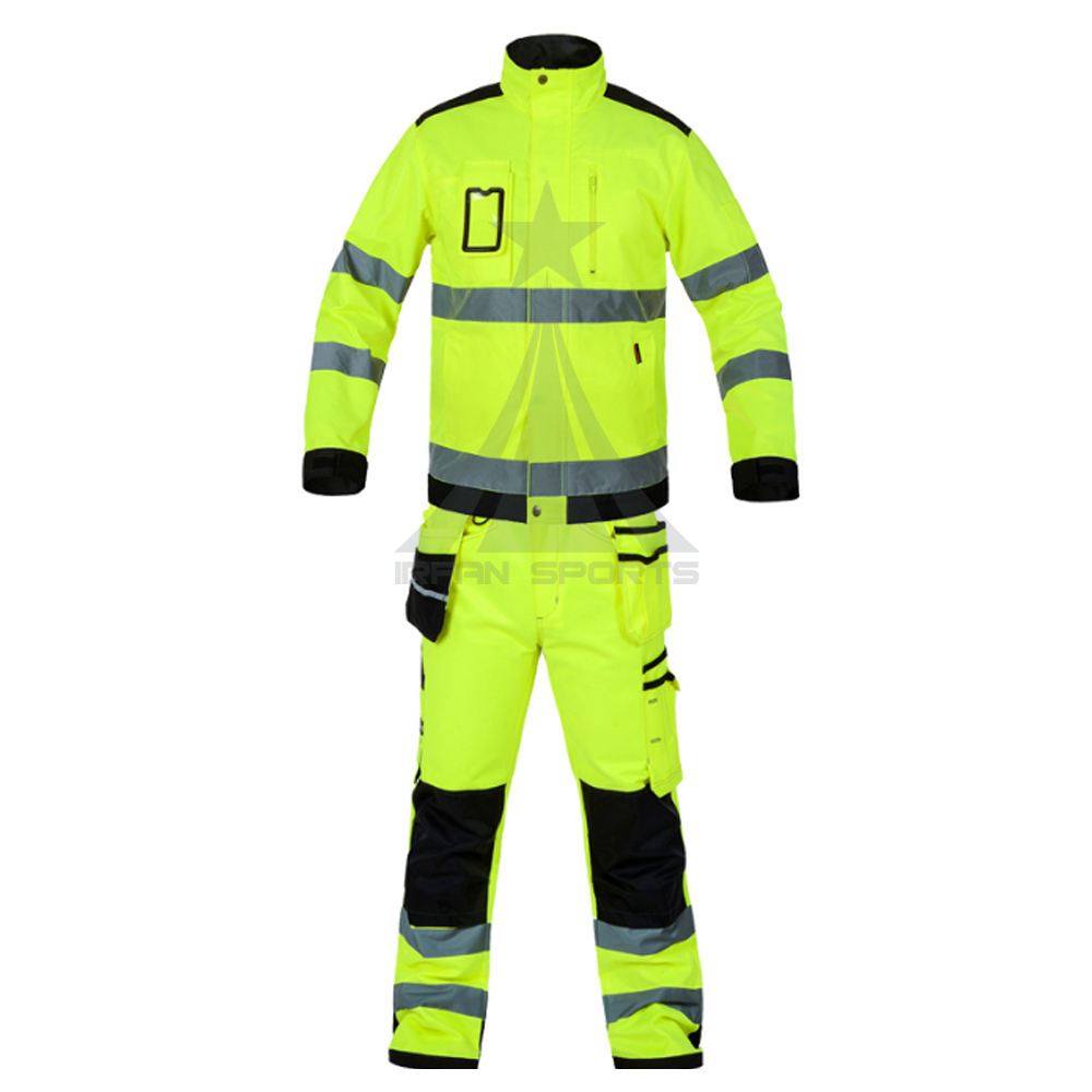 Good Quality Waterproof Workwear Uniform With Reflective Tape New Design Uniform For Workwear