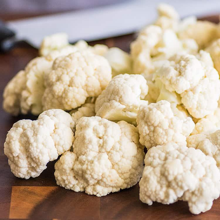 Clean Fresh Organic Cauliflower Wholesale