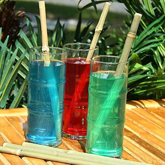 march expo 2020 eco-friendly high quality non-toxic natural bamboo drinking straw set reusable organic fiber biodegradable straw
