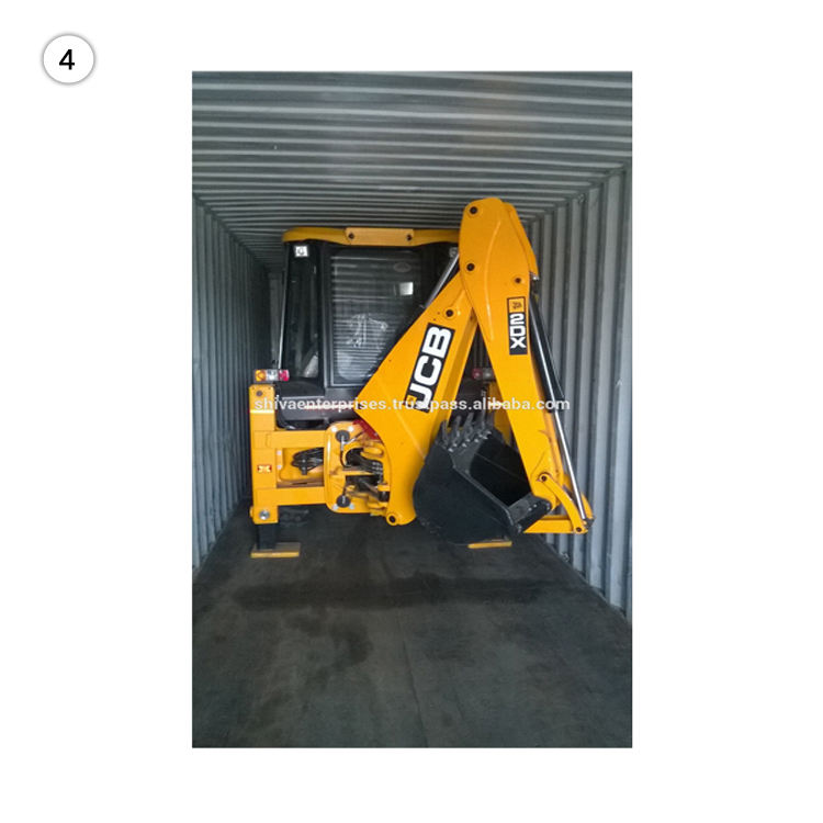 Heavy Machinery Exporter Discount Price JCB 3DX Backhoe Loader