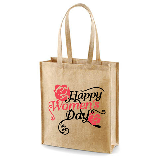 In Shopping fashionable printing jute bags our certification ISO9001-2015 ISO14001-2015 SA 8000-2014