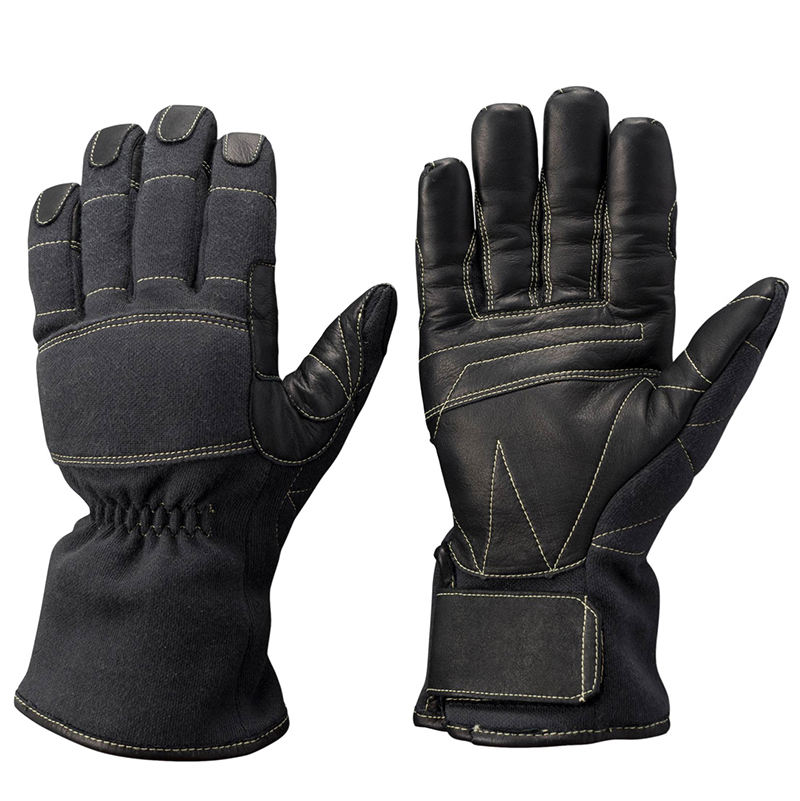 Hand safety fireman professional fire fighter gloves
