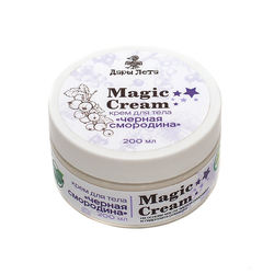 Organic cream for body
