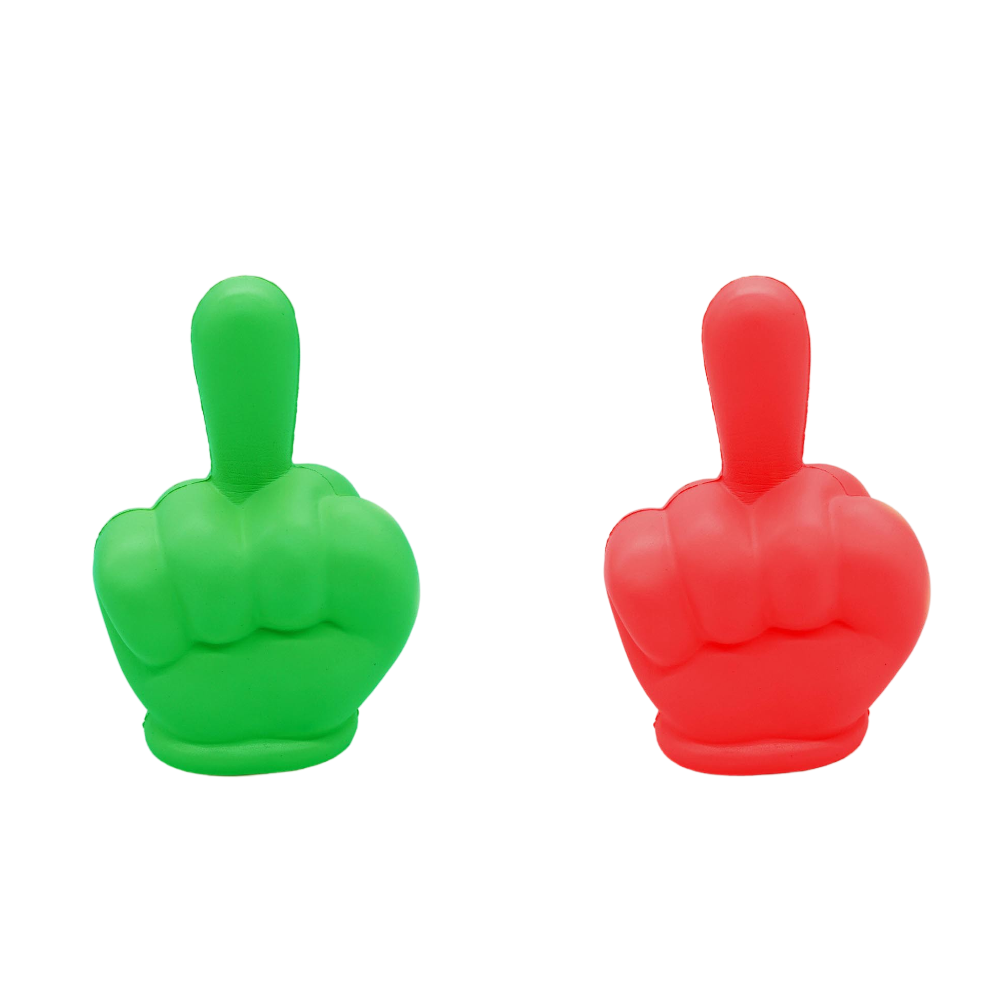 Funny squishy middle finger slow rising stress relief finger/ prank squishy toys