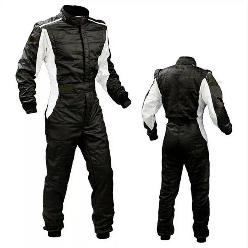 Two Layer Waterproof Kids Karting Suit Car Children Motorcycle Racing Club Exercise Clothing Overalls Stig Suit Moto