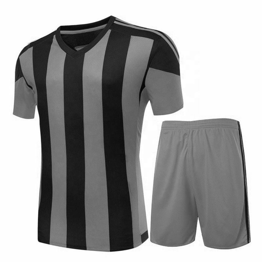 Men Custom Team 100% Polyester Comfortable Sports Wear Soccer Uniform