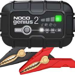 All In New Stock-NOCO GENIUS2-2-Amp Fully-Automatic Smart Charger 6V And 12V Battery Charger Battery Maintainer And Battery De