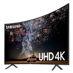 "AUTHENTIC-Samsung RU7300 65"" Class HDR 4K UHD Smart Curved LED TV"