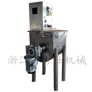 Daily chemical industry application stainless steel ribbon blender horizontal detergent powder making machine