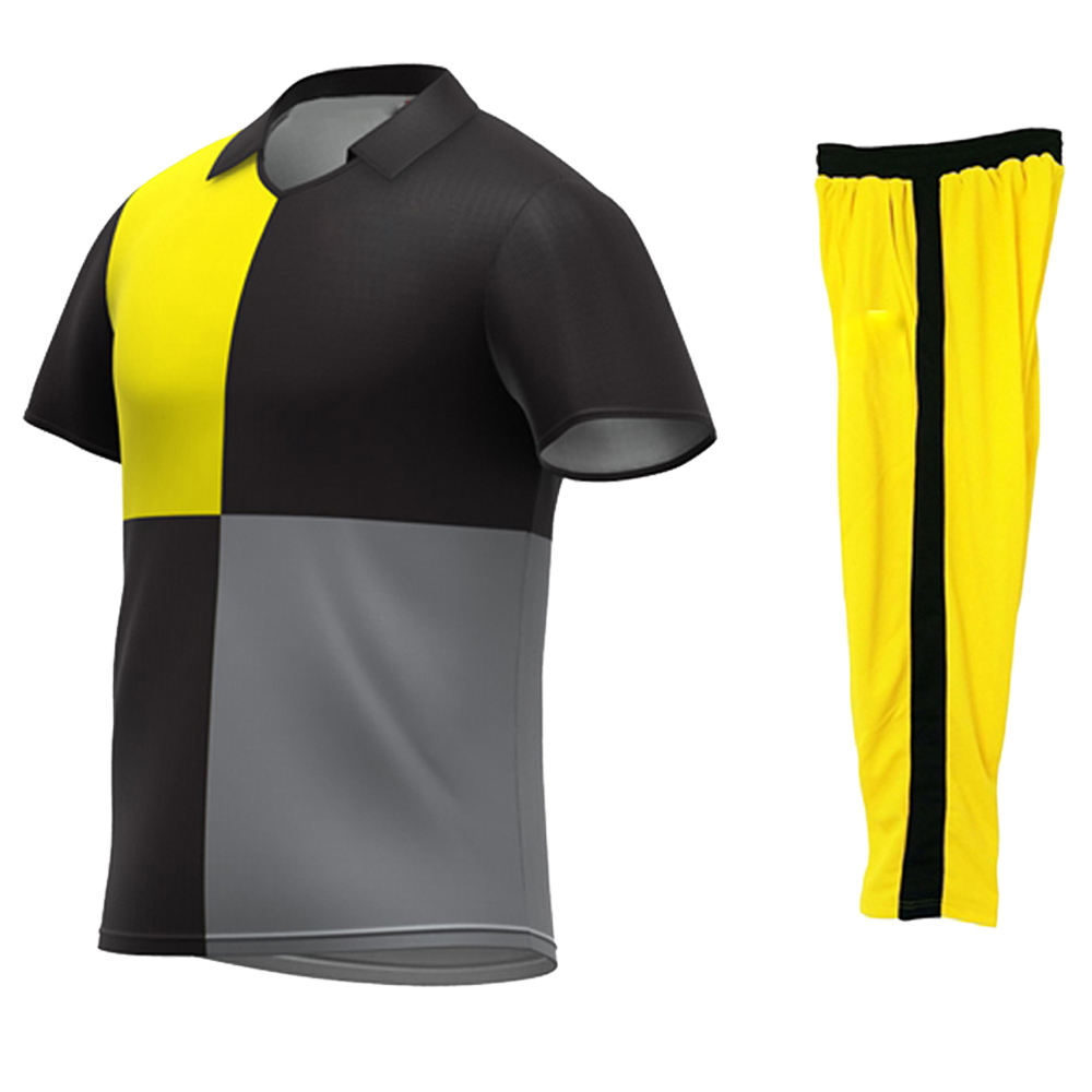 cheap sublimation Printing Mens New Design Sportswear Cricket Uniforms Wholesale Polo Shirt Custom Cricket Jerseys
