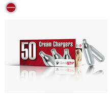 N2O Cream Whipped Chargers 8g Nitrous Oxide - 50 Pack