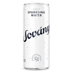 Vegan Sovany Simply USDA Organic, Sparkling Water, Non-GMO, Made in USA (355ml)