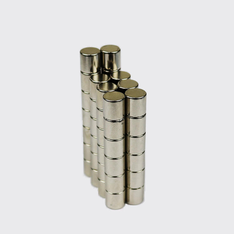 Strong Cylinder Rare Earth Magnet Neodymium Bulk Sheet N35 Mini Small Round Magnets Disc 8X8mm