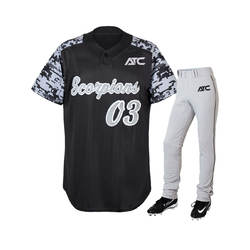 Wholesale High Quality Custom Professional Sublimated / Printing Design Collection Sports Team Wear Baseball Jersey Uniforms