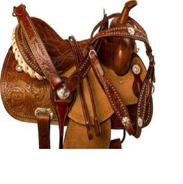 Manaal Enterprises High Quality Premium Leather Western Horse Saddle