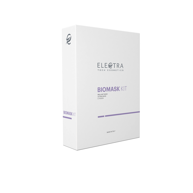 ELECTRA BIOMASK <span class=keywords><strong>KIT</strong></span> Bio cellulose Feuchtigkeit maske Made in Italy