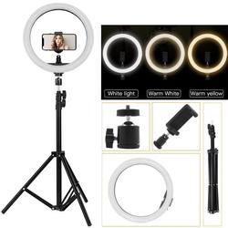New Arrival Photographic Selfie Led Ring Light Set Professional Beauty Lamp for  Video with Tripod