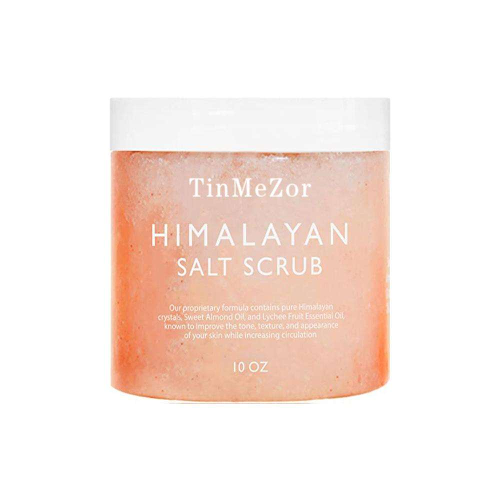 Hot Selling himalayan shimmering plant grow cream body scrub with soft squeeze bottle for men
