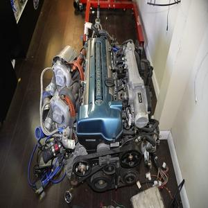 Jdm 98 Supra 2JZ Gte Twin Turbo Motor