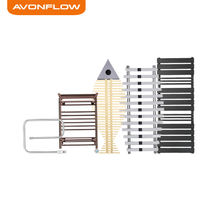 AVONFLOW Bathroom Accessory Commercial Towel Heating Rack Warmer Rack Towel Shelf