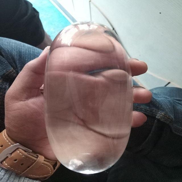 Cristal de cuarzo Shiva Lingam