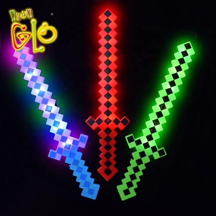 Kids Toy Led Swords LED Light Up Toy Kids Favor Gift Light Saber LED Pixel Sword
