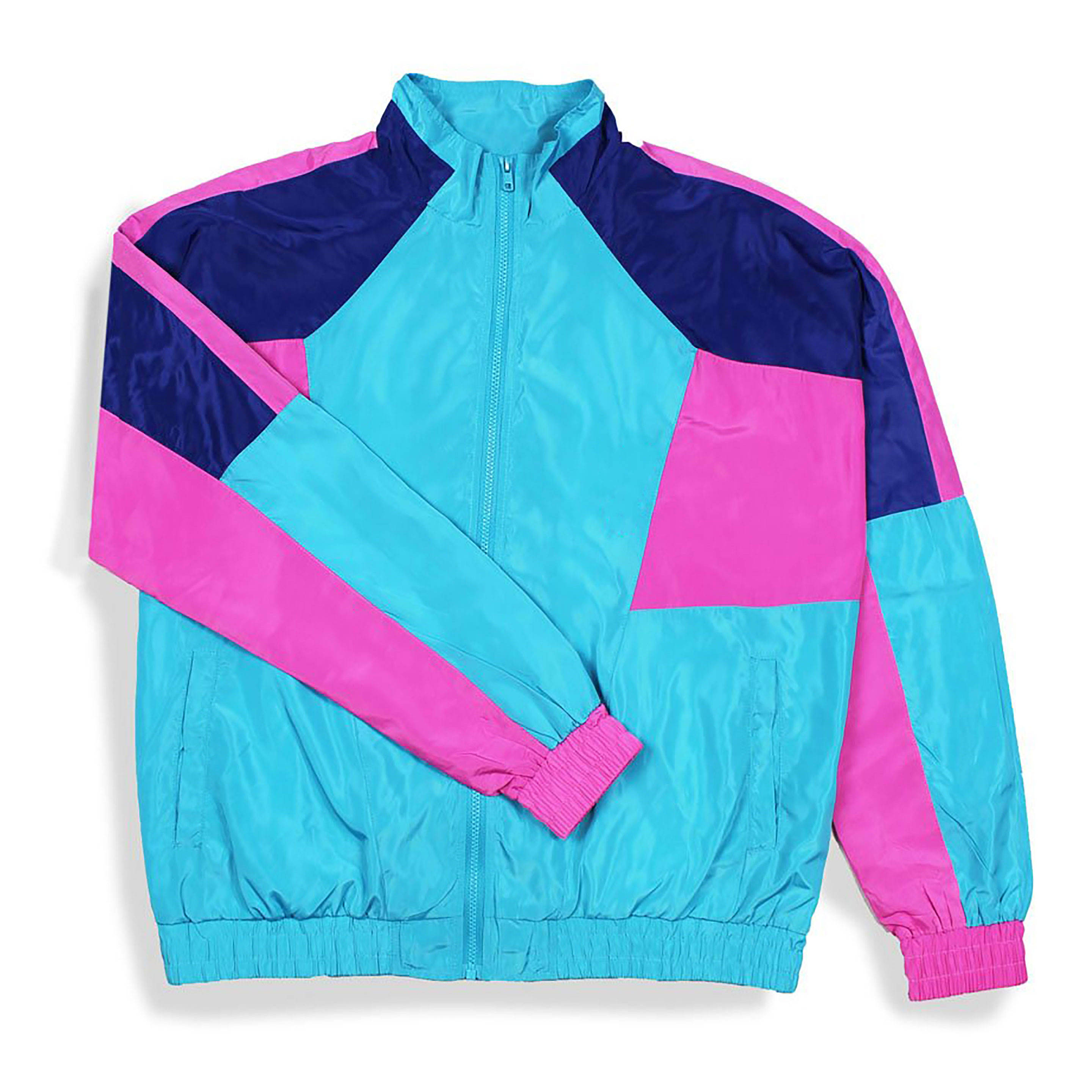 latest design wholesale pullover windbreaker or retro cheap windbreaker jackets