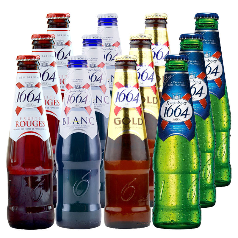 Kronenbourg 1664 Blanc Alcoholic And Non Alcoholic Imported Drinks
