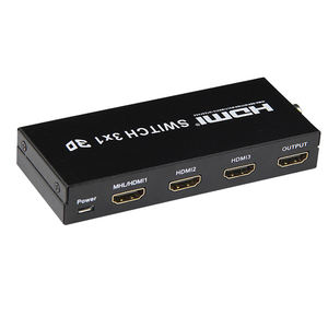 4k * 2k 3D 1080P 3x1 hdmi switch HUB splitter konverter switcher remote 3 port