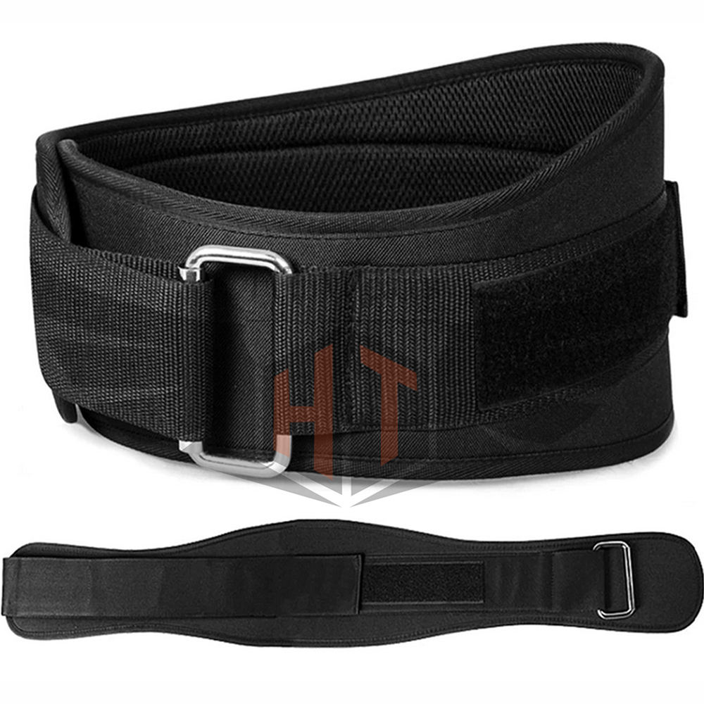 Unisex gym fitness back support belt Custom Wholesale Power belt Power lifting Lever Dip Genuine Leather weightlifting belt