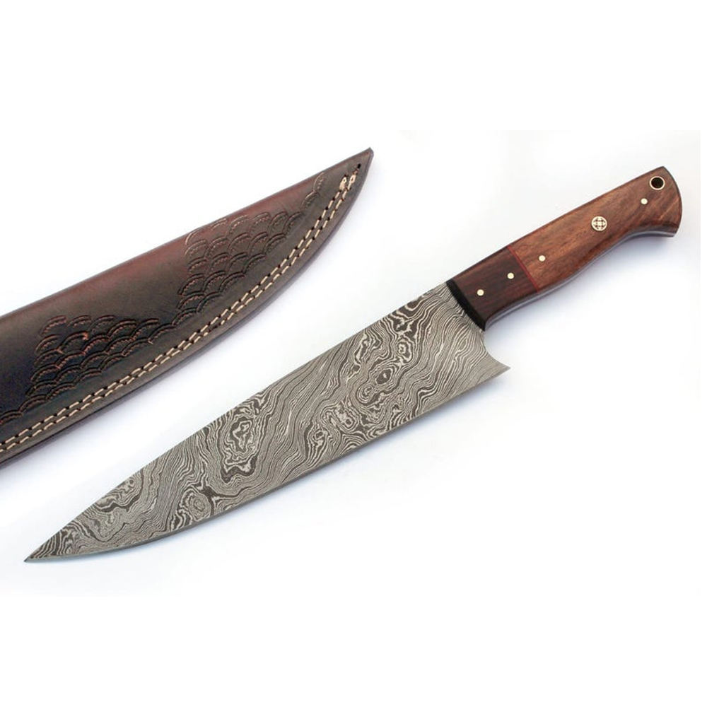 Perfect quality best choice knife chef damascus for kitchen