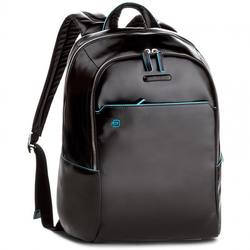 Italian High Quality Laptop Backpack made with Real Leather and Textiles Piquadro