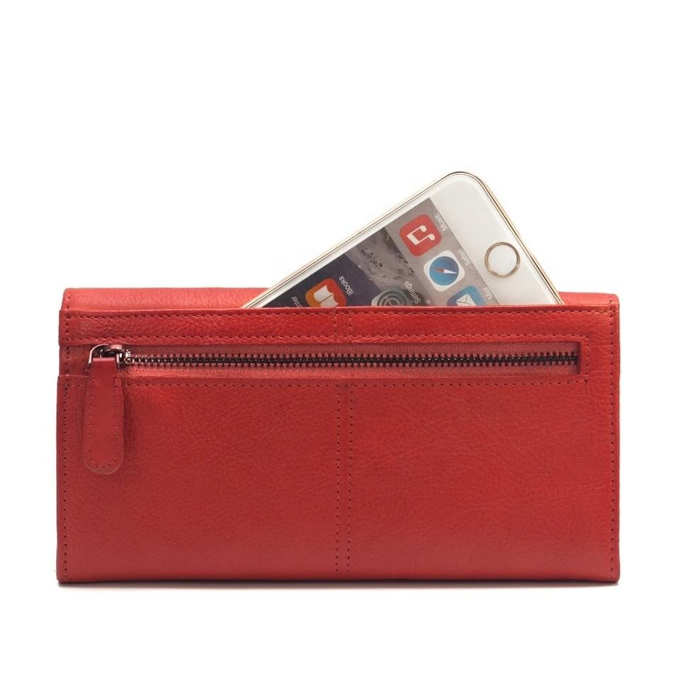 wholesale New Fashion Genuine Leather Ladies Purse Wallet For Women