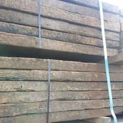Reclaimed Pine Railway Sleepers Available