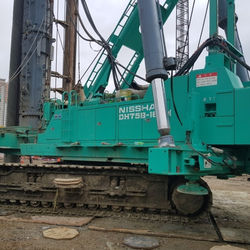 [ Winwin Used Machinery ] Used Pile driver NIPPON SHARYO DH758-160M 2012yr For sale