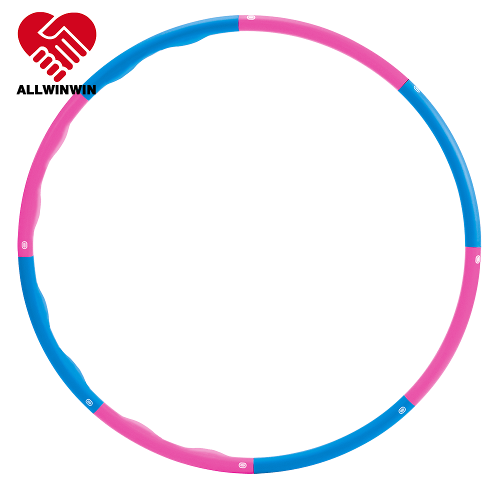 ALLWINWIN HLH04 Hoop - Weighted Half Wave Half Smooth 100cm 1.2/1.5/2kg Calories Burning