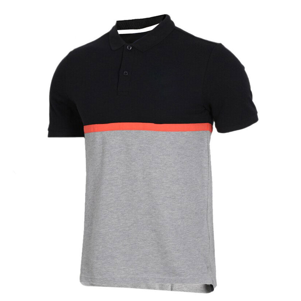 Color Block Top Selling New Arrival Men Polo T- shirt Custom Breathable Men Polo T-Shirt Wholesale Price Polo T-Shirt For Men