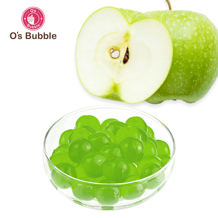 <span class=keywords><strong>Popping</strong></span> Boba Bubble Green Apple
