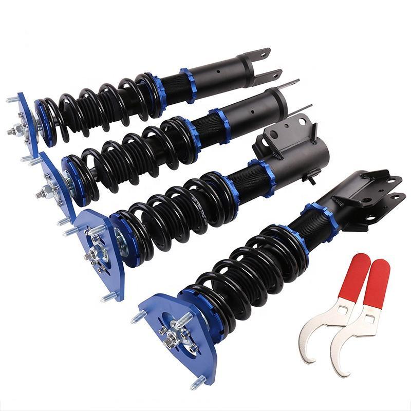 Twin-Tube Damper Coilover Suspension Kits for Mitsubishi 3000GT FWD 91-99 Blue