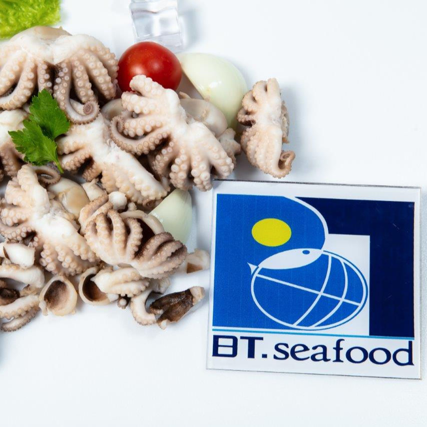 Clean FROZEN BOILED CUT OCTOPUS best product of Seapimex with high quality and top wholesale in Vietnam