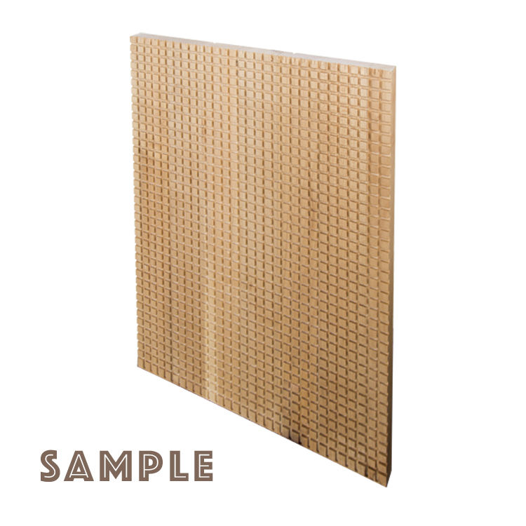 Vintage Home Decor MDF Wood Material Wall Sheet Larch Cladding Exterior Panel Board for Bedroom Furniture