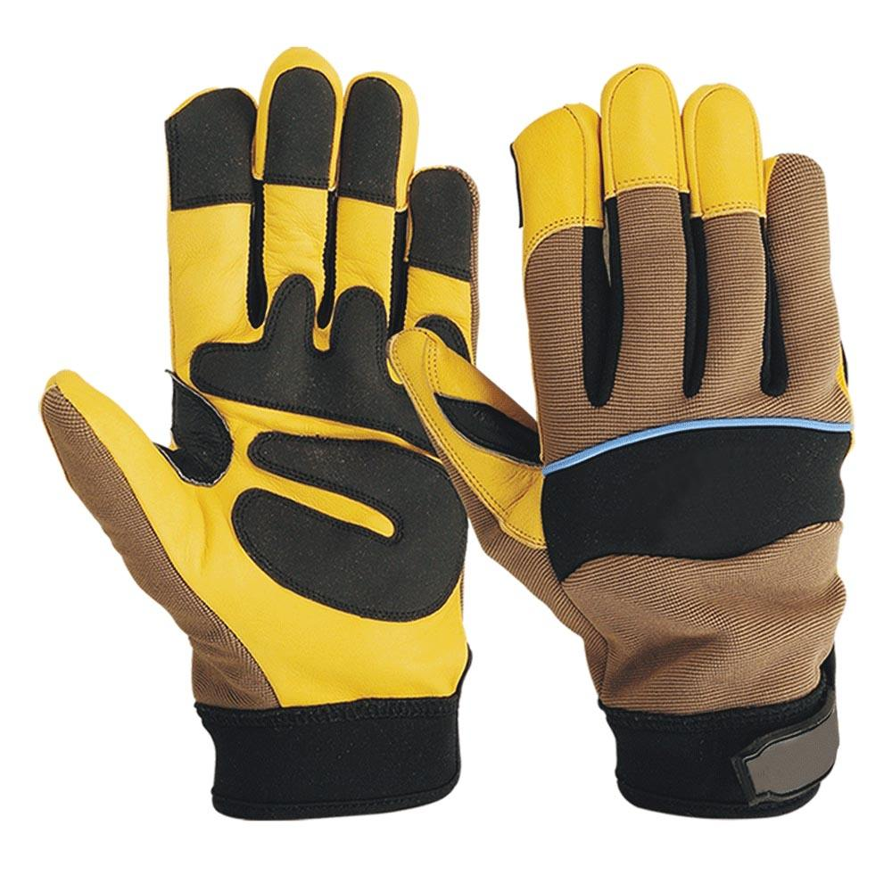 Cut Resistant TPR Mechanical Gloves Knife Cut Protective And Finger Cut Gloves / Oil Field Hand Safety Mechanics Gloves