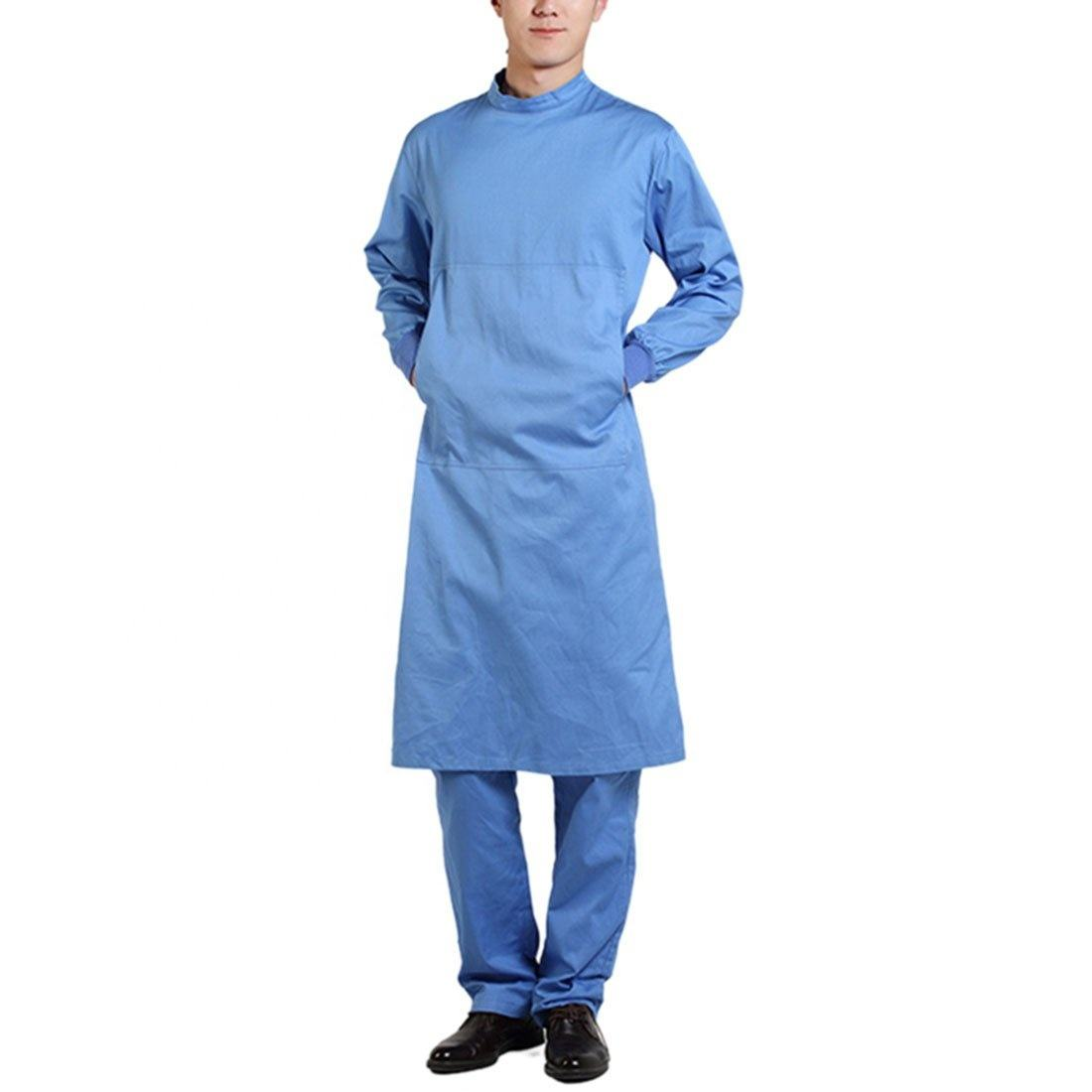 Wholesale Anatomy Short Sleeve TC material Medical Uniforms Scrub Sets Dental Clinic Doctors Surgical Clothes