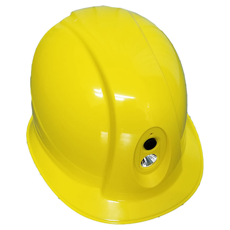 construction safety hard helmet with wifi camera night vision flashlight for engineers