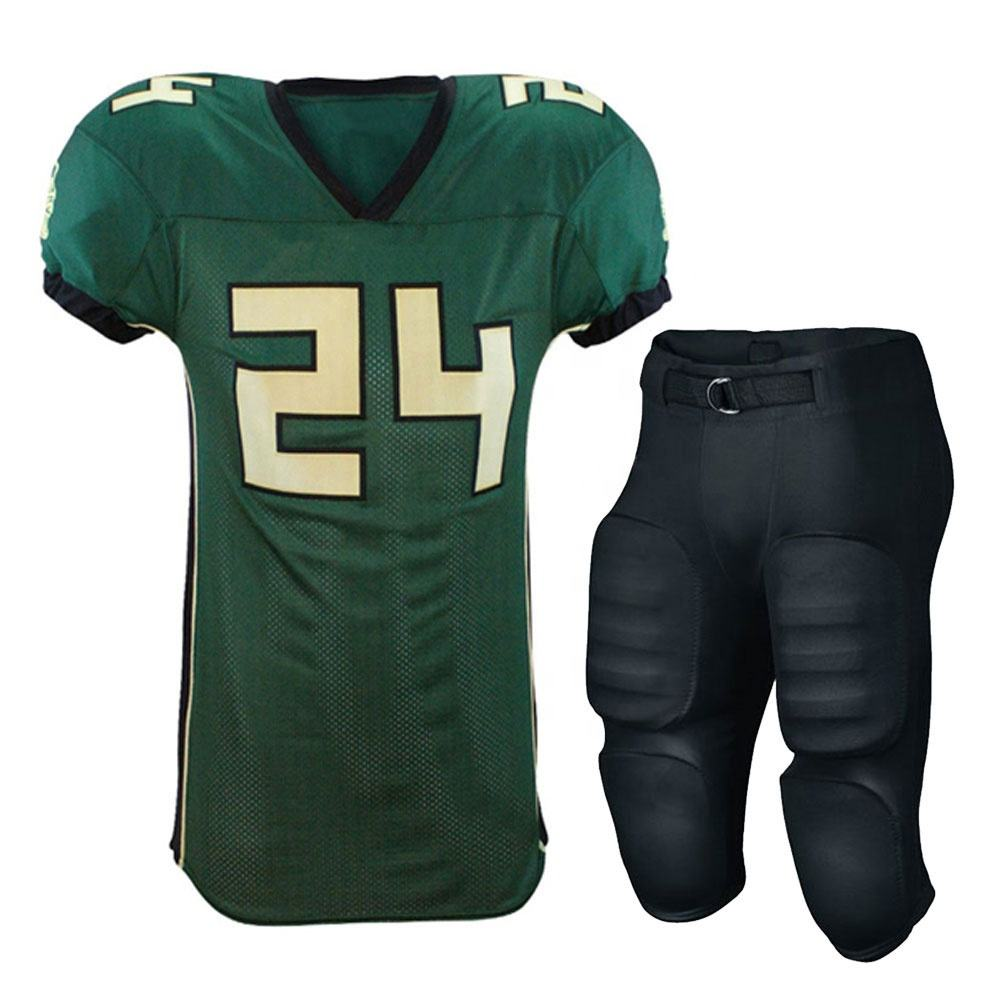 Cheap custom design sublimated youth american football jerseys training uniform wear
