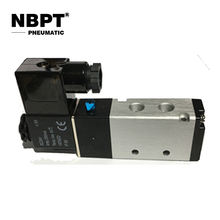 Inner Guide Type Two Position Five Way Solenoid Valve Directional Control Valve